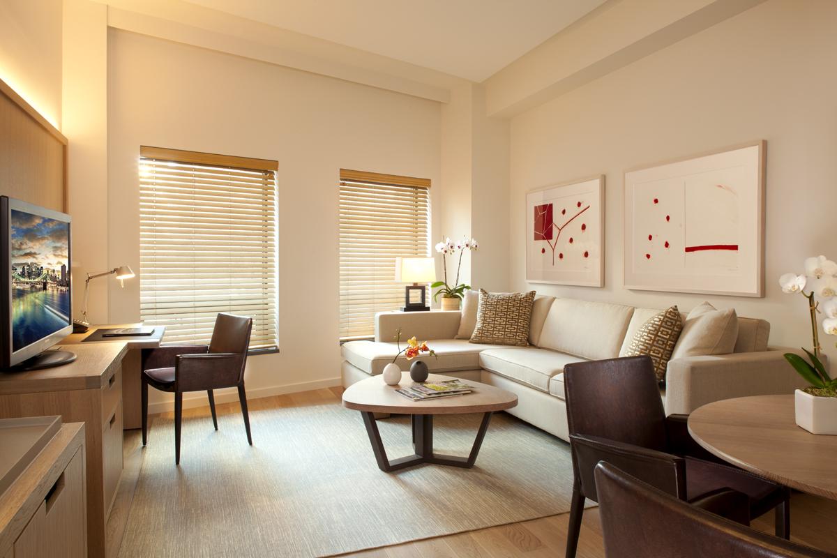 Living In One Room Conrad Hotel New York Jillgreavesdesign Inc