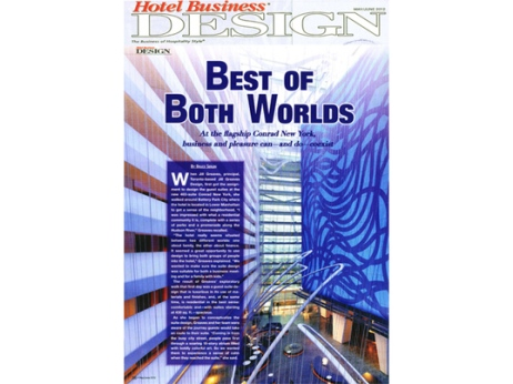 Hotel Business Design Issue May/June 2012 Conrad Hotel