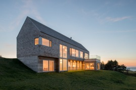 A multi-level, residential retreat on the rolling landscape of Cape Breton Island.